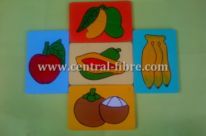 puzzle buah
